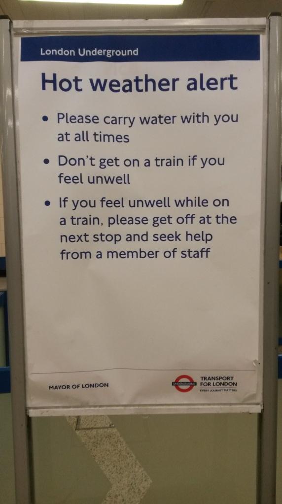 London Underground Message