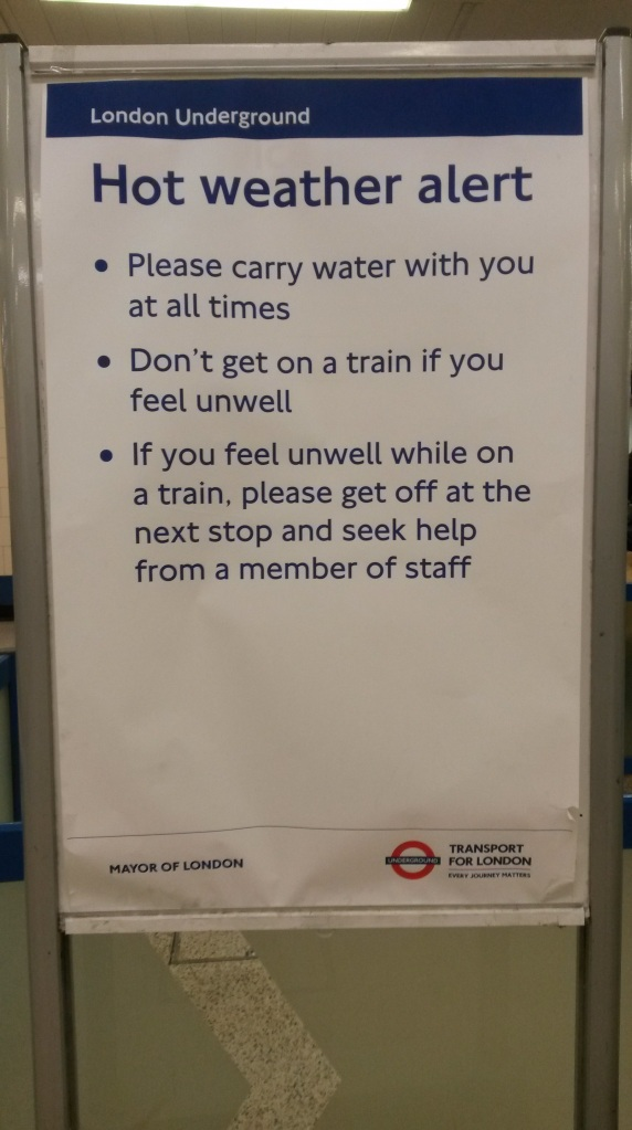 London Underground Message