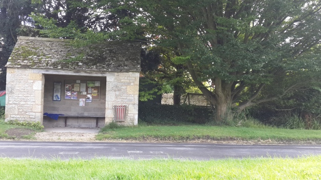 Bus Stop at Broadwell, Cotswold